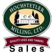 Hochstetler Milling log home sales