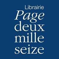 Librairie Page deux mille seize