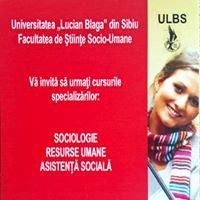 Sociologie, Resurse Umane, Asistență Socială - Sibiu
