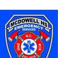 McDowell High School EMT Class