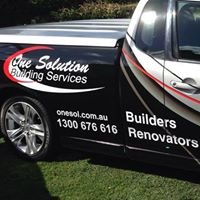 One Solution Building Services