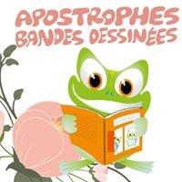 Apostrophes bandes-dessinées Website & Concept store