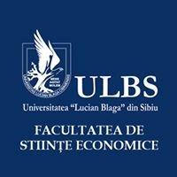 Facultatea de Stiinte Economice - Universitatea Lucian Blaga din Sibiu