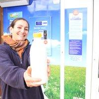 Le distributeur de lait de la ferme d'Haravilliers