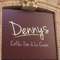 Dennys Coffee bar Ice cream