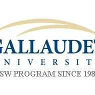 Gallaudet University Masters of Social Work