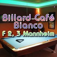 Billard Café Bianco Mannheim