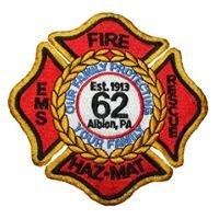 Albion Volunteer Fire Department #62
