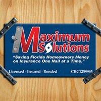 Maximum Solutions