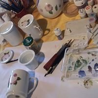 Atelier Eglantines, peinture sur porcelaine et faïence