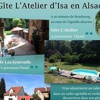 """Gîte """"L'Atelier"""" d'Isa en Alsace"""