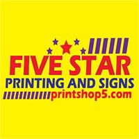 Five Star Printing and Signs