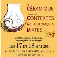 La Céramique dans les Contextes Archéologiques Mixtes