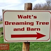 Walt's Dreaming Tree and Barn