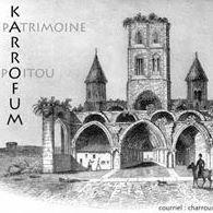 Association Karrofum   Abbaye Saint-Sauveur de Charroux  en Poitou