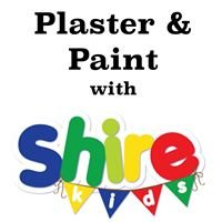 Plaster & Paint with Shire Kids