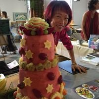 Art sur fruits Thé Carving