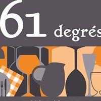 61 degrés