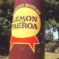 L&P Bottle @ Paeroa