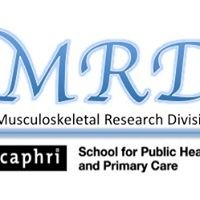 Musculoskeletal Research Division Caphri