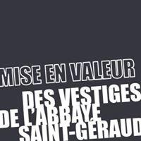 Mise en valeur des vestiges de l'abbaye Saint-Géraud
