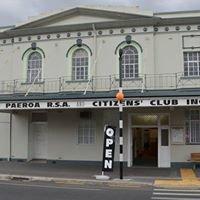 Paeroa RSA and Citizens Club Inc