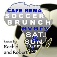 Cafe Nema Soccer Brunch