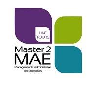 Master MAE - IAE Tours