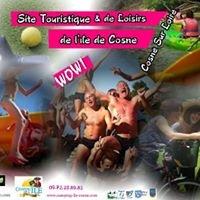 Site touristique & de loisirs de l'île de Cosne