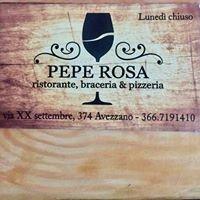 Ristorante Pepe Rosa