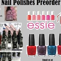Nail Polishes Preorder