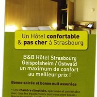 Hôtel B&B Strasbourg Sud Geispolsheim