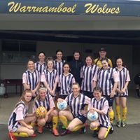 The Warrnambool Womens Wolves F/c