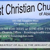 First Christian Church, Abingdon, VA