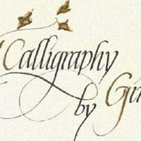 Calligraphy by Gina