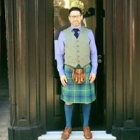 Campbell Ewen Gentlemen's Hairdresser The kiltedbarber