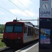 Liaison ferroviaire Belfort - Delle