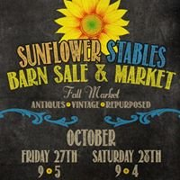 Sunflower Stables Barn Sale and Market