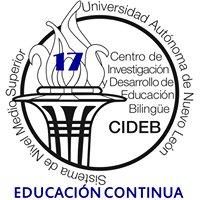 Educacion Continua CIDEB, UANL