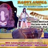 Babylandia Affitto/Noleggio giochi gonfiabili Bisonte Americano