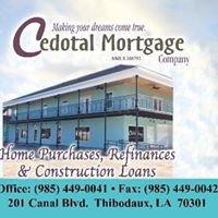 Cedotal Mortgage Company NMLS 86793