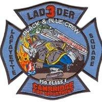 Cambridge Fire Department Engine 2 / Ladder 3