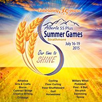 Strathmore 2015 Alberta 55 Plus Summer Games