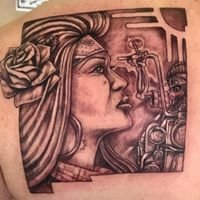 Jake's Tattoo and Flash