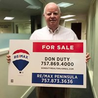 Don Duty Realtor, Virginia Peninsula