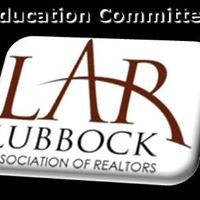 Education Committee-Lubbock Association of Realtors