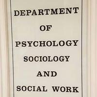 West Texas A&M University Department of Psychology, Sociology & Social Work