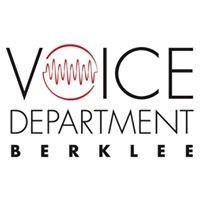 The Berklee Voice Department