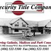 Security Title Company of Montana