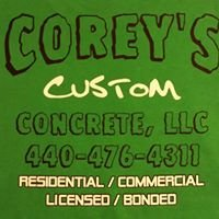 Corey's Custom Concrete, LLC